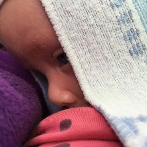 Baby stillt