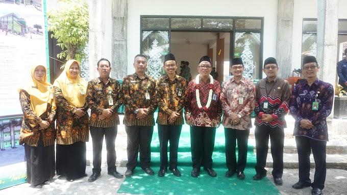 Kunjungan Direktur KSKK Madrasah Kemenag RI MAN 2 Ponorogo