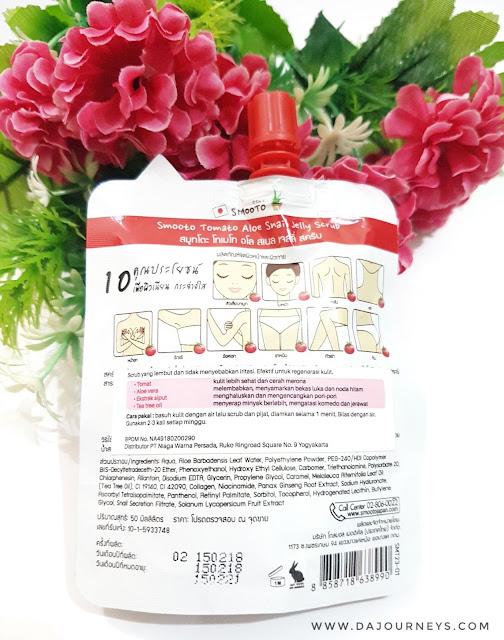 [Review] Smooto Tomato Aloe Snail Jelly Scrub