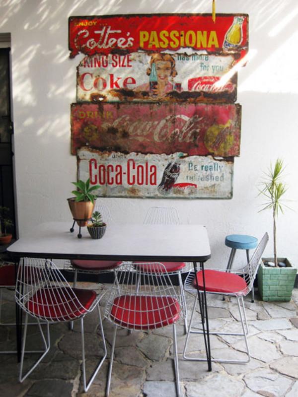 Wunderkammer inspiration dekorieren sie mit vintage - Chapa coca cola pared ...