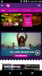 Addatimes (Beta)- screenshot thumbnail