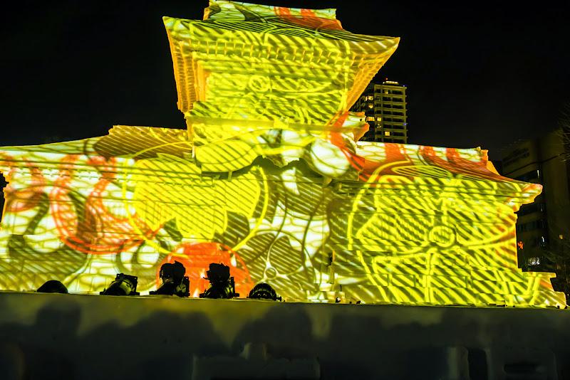 さっぽろ雪まつり 春日大社ライトアップ 写真3