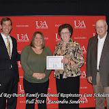 Scholarship Awards Ceremony Fall 2014 - Cassandra%2BSanders.jpg