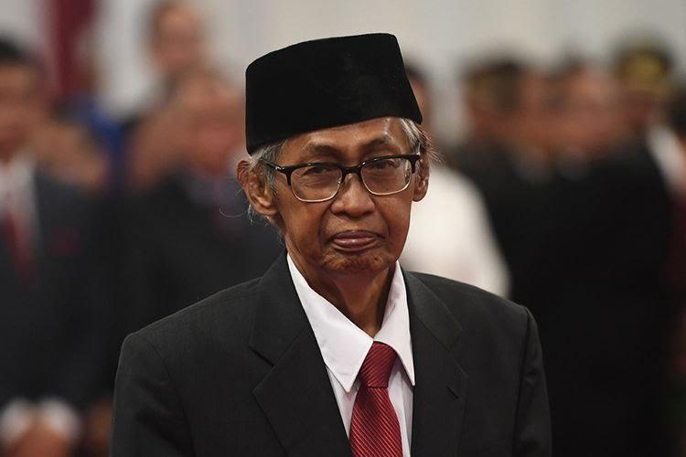 Berita Duka, Dewan Pengawas KPK Yang Juga Mantan Hakim Agung  Artidjo Alkostar Tutup Usia