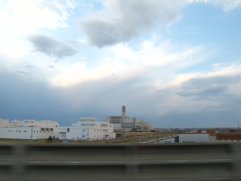 北海道北見バス「高速えんがる号」 2053 札幌インターより道央道へ