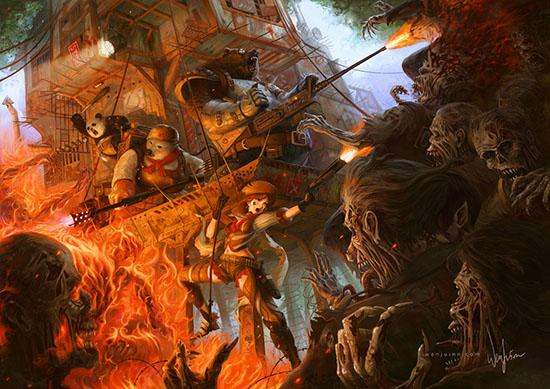Goldilocks Kills Zombies, de Wenjuinn Png