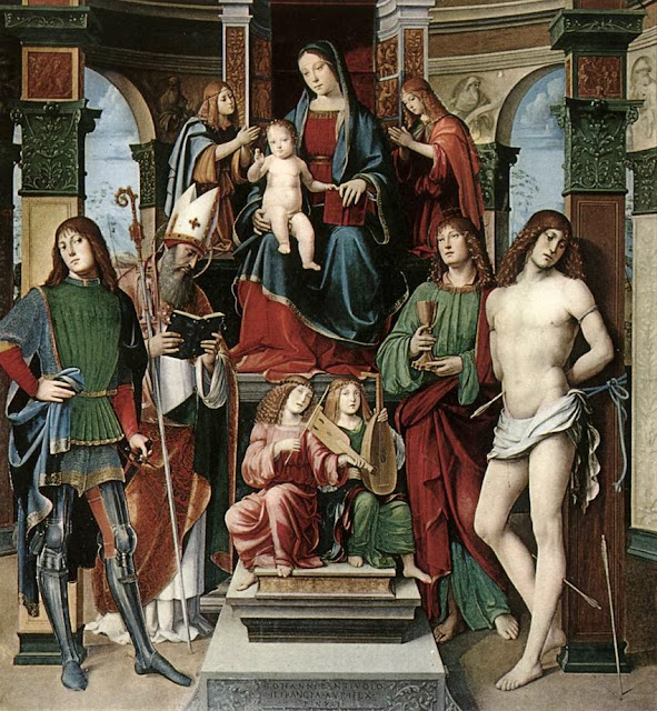 Francesco Francia - Madonna and Saints