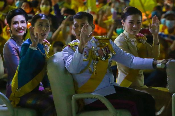 Thai King's mistress has 1,400 naked images leaked in 'revenge porn' sabotage by enemies