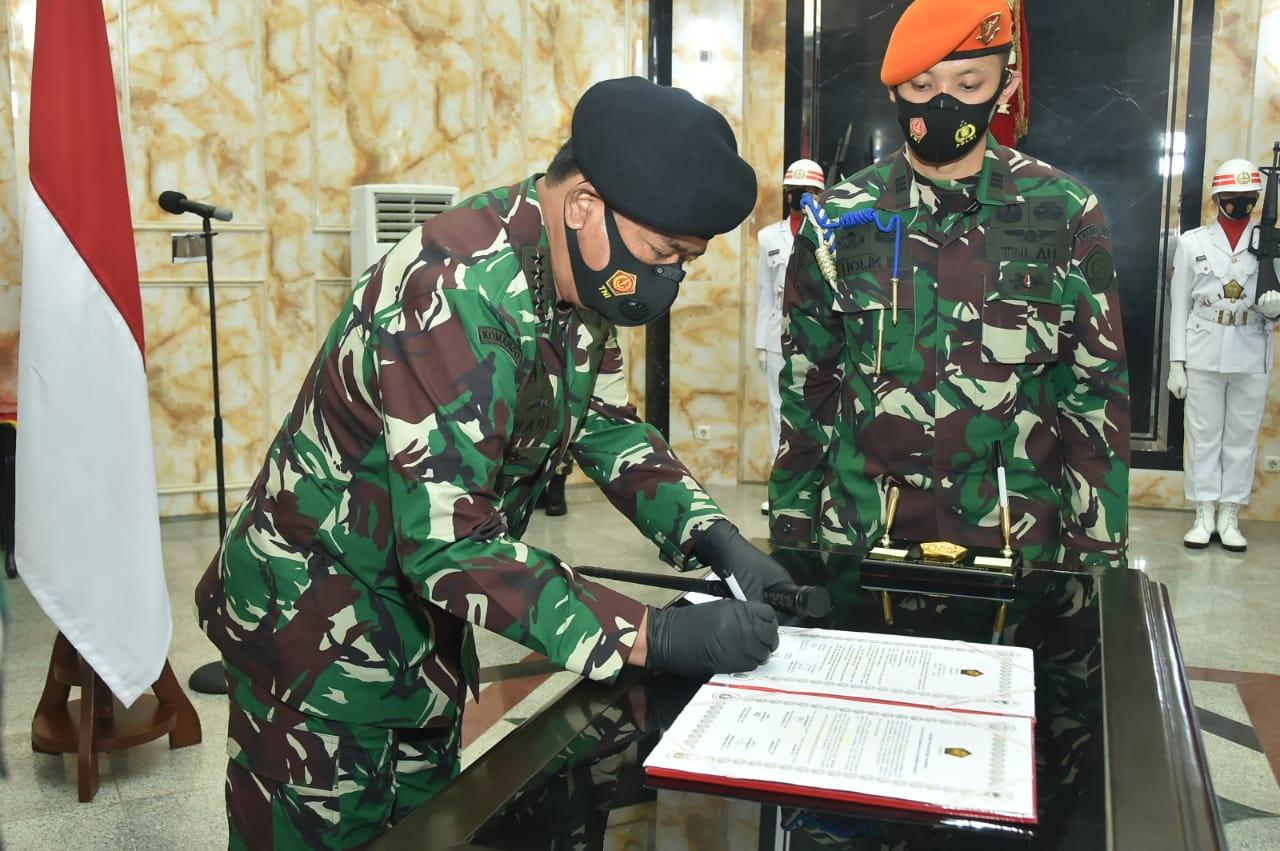 Panglima TNI Pimpin Sertijab Komandan Paspampres