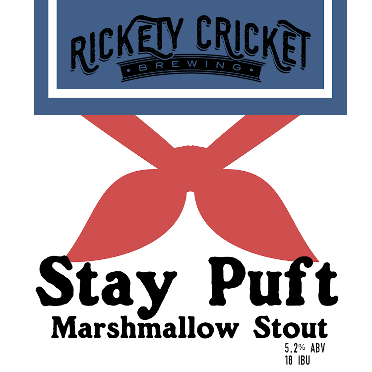 Logo of Rickety Cricket Brewing Stay Puft Stout