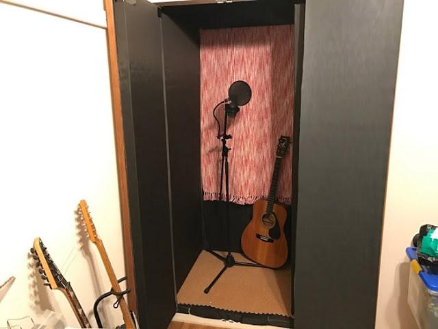 「SAKUMAG」の自作防音室
