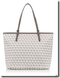Lancaster Paris Ikon Printed Canvas and Leather Tote