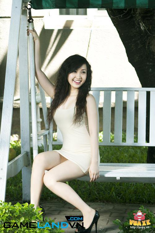 Thí sinh Miss Dream 2012 làm nóng cộng đồng mạng 9