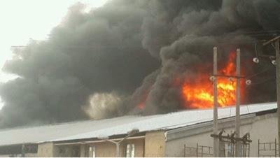 PHOTOS: Christ Embassy Church Oregun Branch Gutted By Fire 1