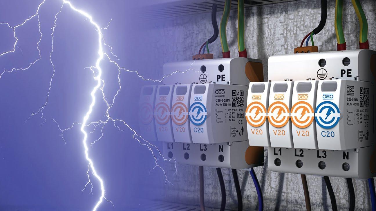 Обычные защитные аппараты не смогут оградить электроаппаратуру от удара молнией
