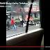 Videk Motot Harley Terbakar Di Pinggir Jalan Magelang