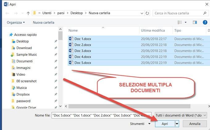 selezione-multipla-documenti