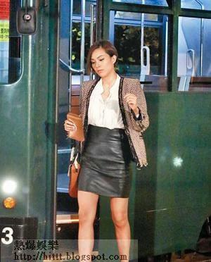 朱慧敏前晚忍受情傷開工拍劇,她表示有意延後婚期。