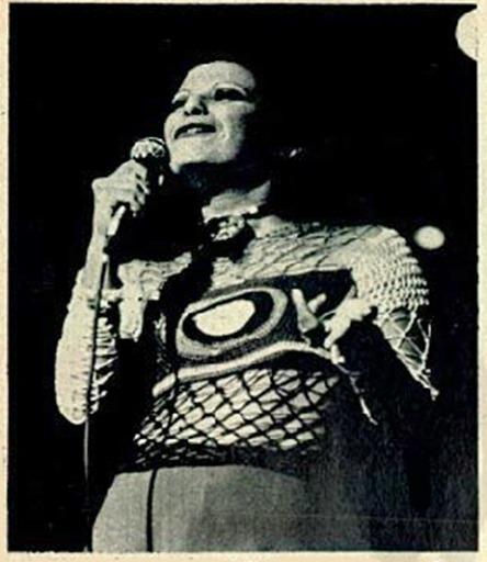 Show de Elis Regina - 1972 - foto Carlos Namba