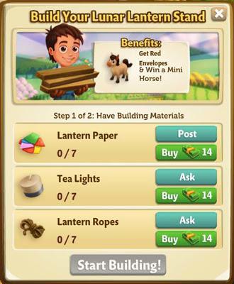 lunar lantern building requirement