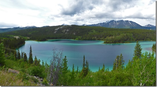 Emerald Lake near Carcross