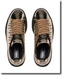 Puma Gold Platform Sneakers
