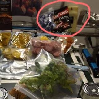 foto permen kopiko di stasiun luar angkasa iss