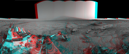 Mars Stereo View from John