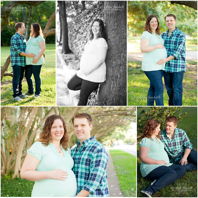 Maternity session - Menil Park, Houston