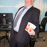 Rob Ford during Halloween at Climax Media in Etobicoke, Ontario, Canada