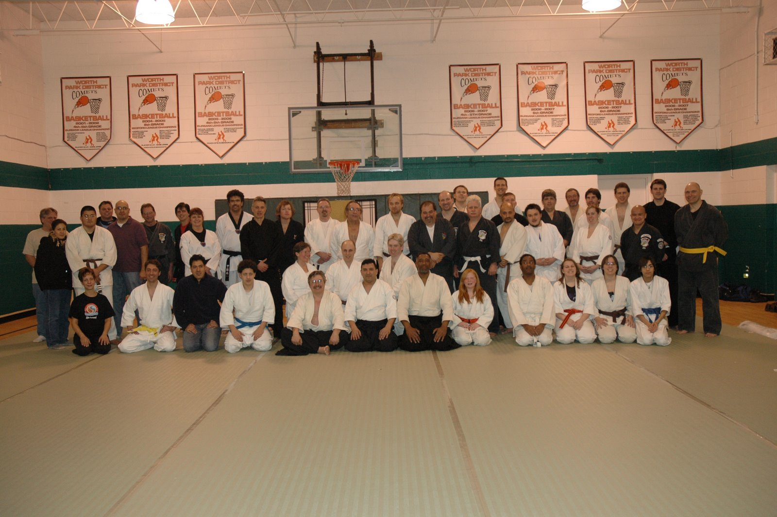 'Dent in the Mat' fundraiser for mats for Soseikan in its temporary park district location