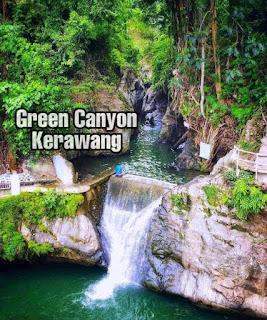 Wisata kerawang green canyon