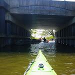 138-We varen terug over de Diepe Dolte en zetten koers naar de Nauwe Larts.