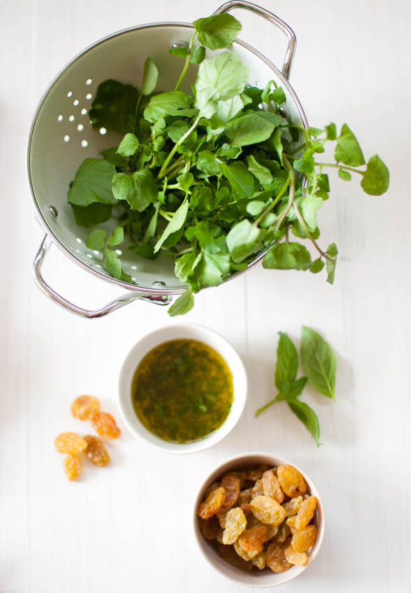 Scandi Home: Watercress and citrus salad