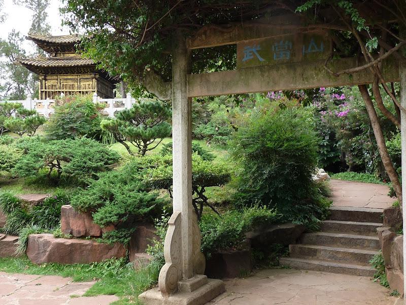 CHINE.YUNNAN.KUN MING Temple, jardin horticole,Musée des minorites - P1270314.JPG