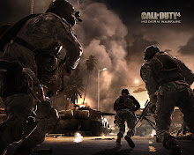 A-Bomb guns COD4 Modern warfare 2 Under fire Wallpaper