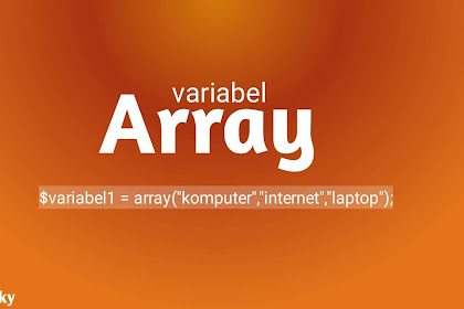 mengenal variabel array pada php