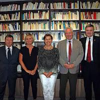 Senator Cointat visiting Alliance Française - Thursday, October 11th