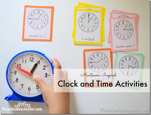 Clock and Time Activities