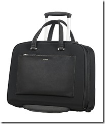 Samsonite Rolling Tote with Smart Sleeve