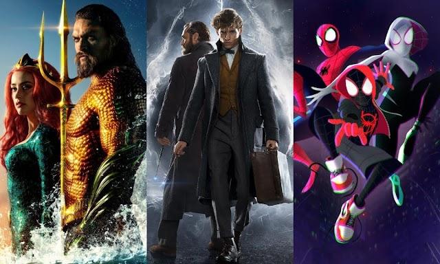 'Animais Fantásticos', 'Aquaman' e 'Homem-Aranha no Aranhaverso' — Confira os lançamentos incríveis do streaming do Telecine em dezembro