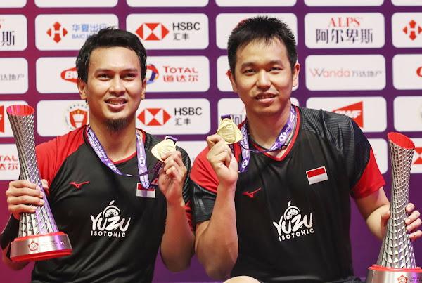 Fakta Menarik Juara demi Juara Ahsan dan Hendra di Tahun 2019