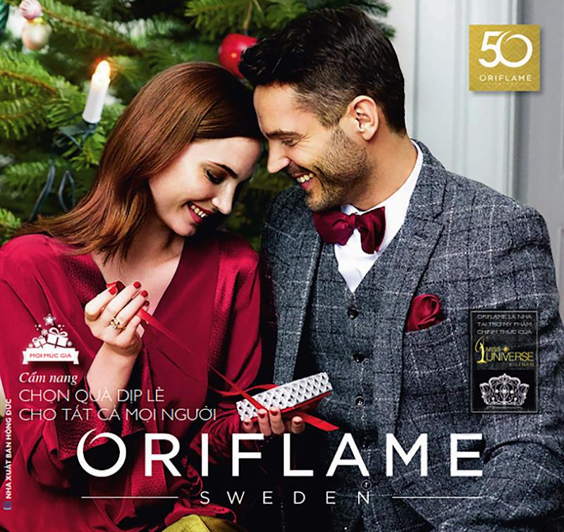 Catalogue mỹ phẩm Oriflame 12-2017