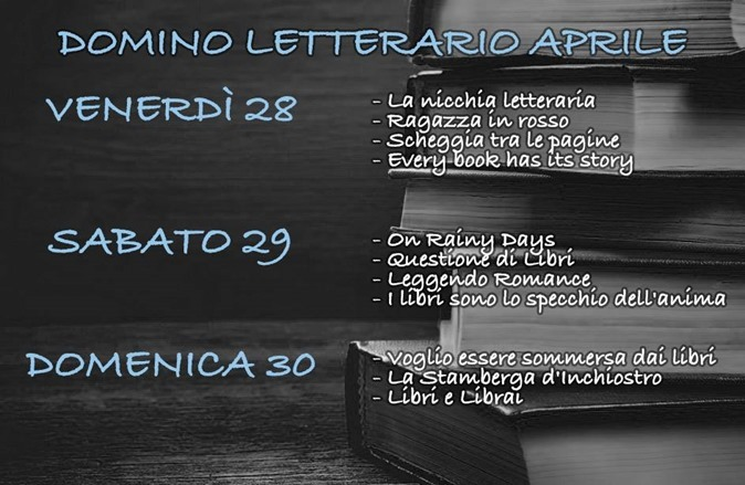 Domino letterario aprile
