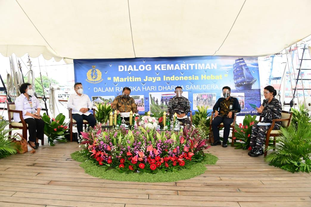 Pemberdayaan Sektor Maritim , Wujudkan Indonesia Hebat.