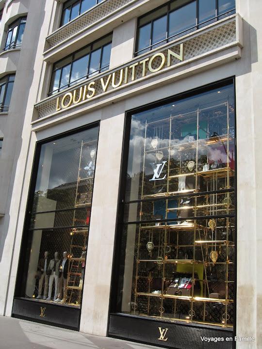 Champs Elysées - Vuitton