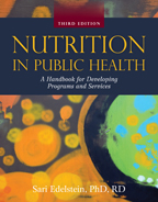 Nutrition in Public Health book cover