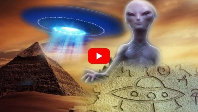 Sinais que indicam a passagem no passado dos extraterrestres na Terra