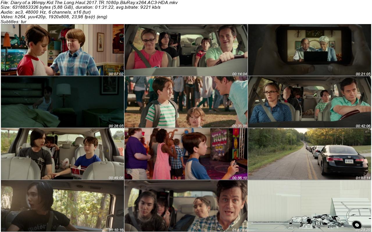Saftirik Gregin Günlüğü Bende Bu Şans Varken 2017 - 1080p 720p 480p - Türkçe Dublaj Tek Link indir