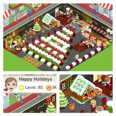 Dragon bakery restaurant story best of christmas 2013 for Bakery story decoration ideas